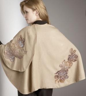 Floral Cashmere Wrap - NM.com