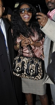 foxy brown - associated press
