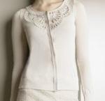 Christian Dior – CrochetedCardigan