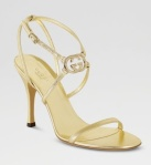 Gucci Britt High-Heel Sandal – Source: NeimanMarcus.com