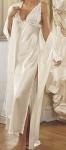 Lace-cup silk gown – Source: Victoria's Secret