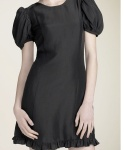 Tracy Reese Puff Sleeve Shantung Dress:Nordstrom.com
