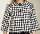 Michael Kors Houndstooth Swing Jacket - Source: Nordstrom