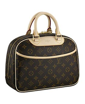 Louis Vuitton Trouville Bag - Source: Eluxury.com