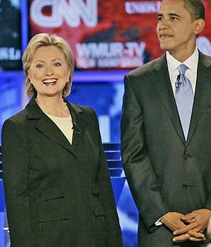 Hillar Clinton and Barack Obama - Source: Reuters