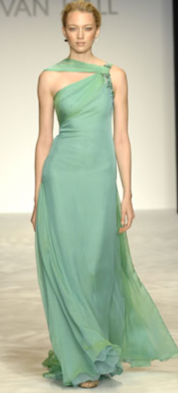 Kevan Hall SeaFoam Gown
