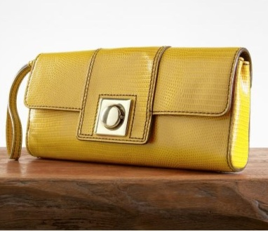 Flatiron Embossed Lady Clutch - Banana Republic