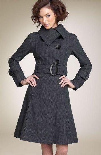 Soia & Kyo Pleated Plaid Coat - Nordstrom.com