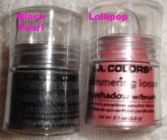 LA Colors Shimmering Loose Eye Shadows