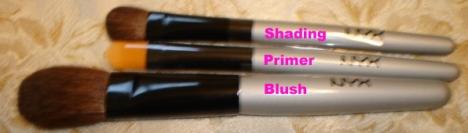 NYX Brushes