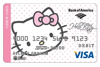 Hello Kitty Debit Card