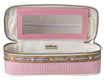 Soap and Glory Cosmetics Case Interior